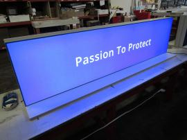 Custom Backlit Internal Office Signage for a Corporate Call Center -- Image 4